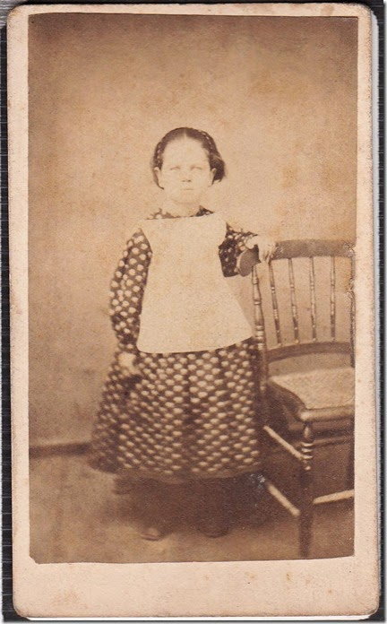 Ella Eliza Engle as a Child