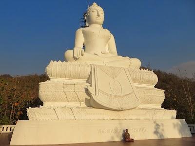 The White Bhudda in Pai