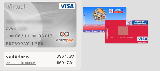 Entropay Paypal