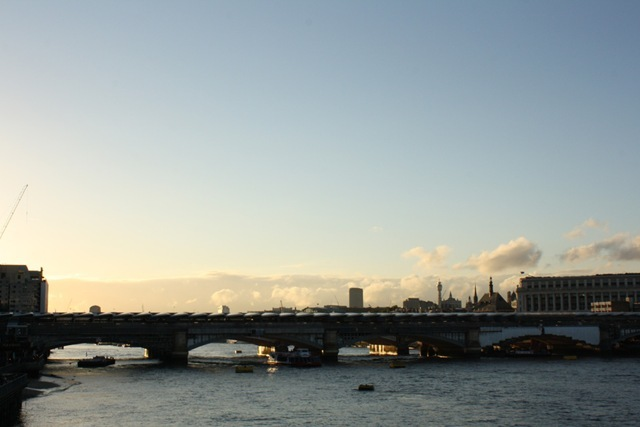 Blackfriars Bridge from the Millennium Bridge