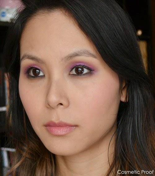 MAKE UP FOR EVER Artist Shadows Makeup Look