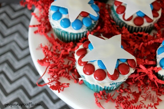 Captain America cupcakes #shop