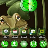 Theme Pond GO Launcher EX