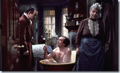 Watson, Holmes and Mrs. Hudson