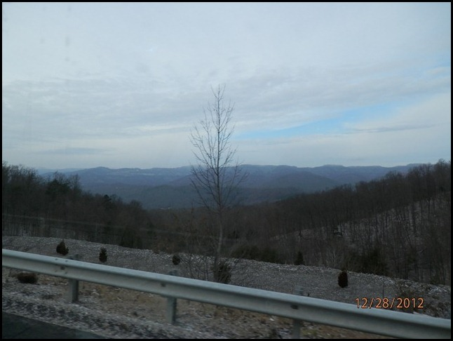 Snow in the Mountains of TN.