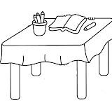 Dibujos De Mesas Para Colorear