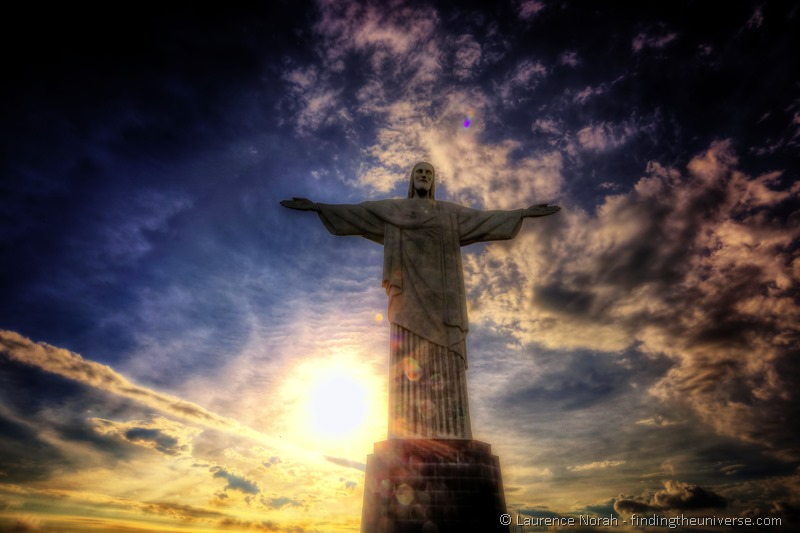 Visiting Rio de Janeiro Highlights Christ the redeemer sunset rio