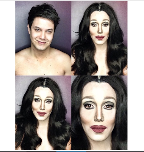 PHOTOS: Dad Transforms Himself Into Celebrities Using Makeup And Wigs 21