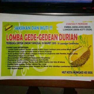 Festival durian kembali digelar di Magelang