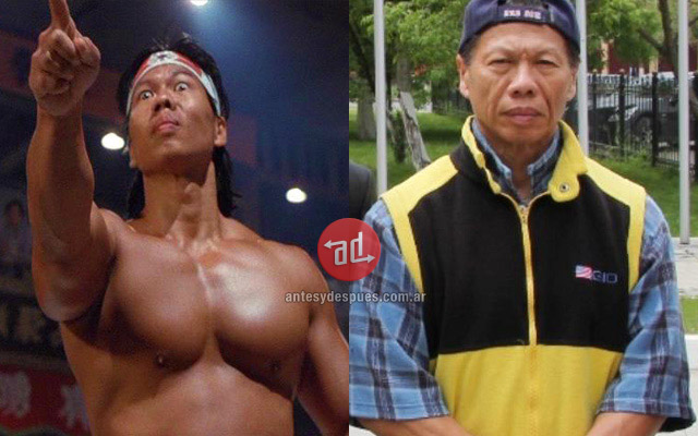 Bolo Yeung before and after