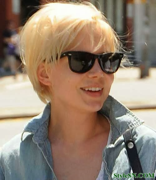 Superb New Short Blonde Hairstyles 2014 Hairstyle Fs Short Hairstyles For Black Women Fulllsitofus