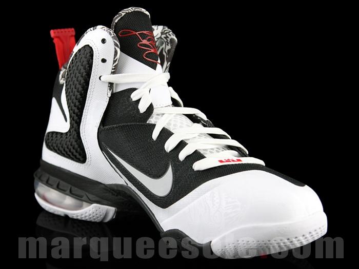 online store 195d2 c17c1 First Look Nike LeBron 9 8220Black amp White8221 aka strikeScarfacestrike  Freegums . ...