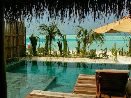 Luna de miere Maldive: Anantara Dhigu - piscina privata