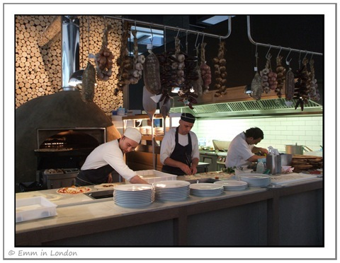 Kitchen - Zizzi St Giles Launch