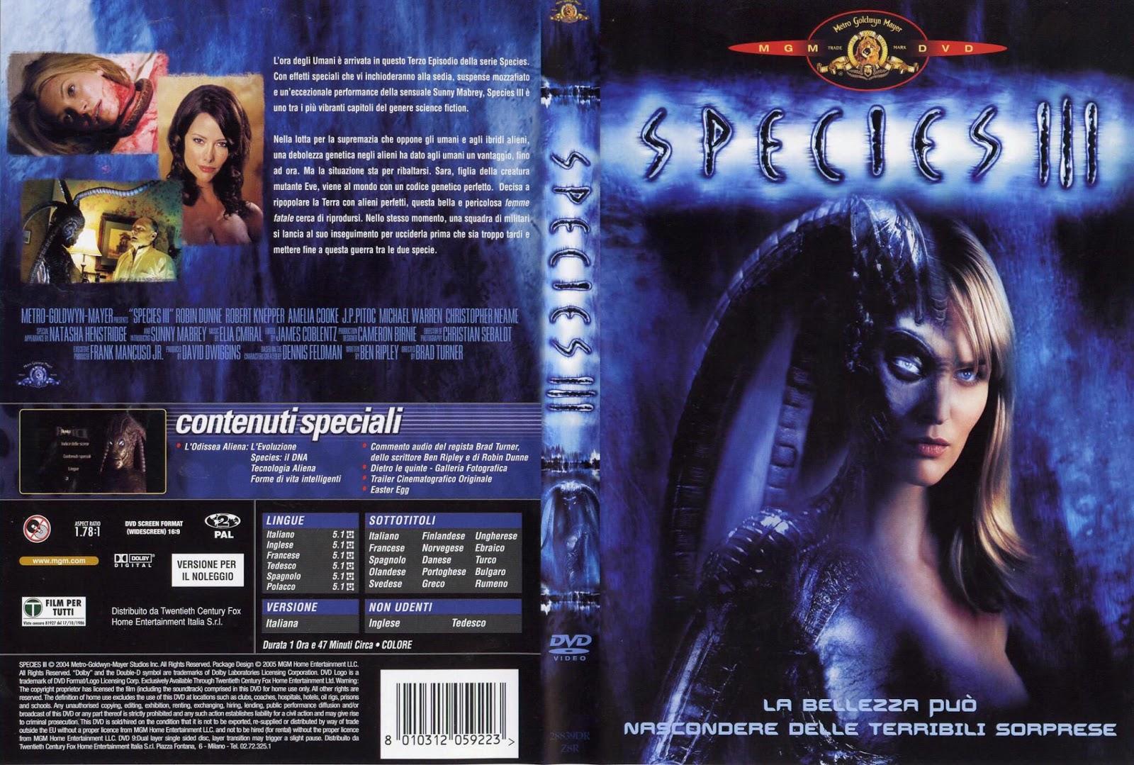 My Movie Review imdb copyright: Species III (Video 2004)