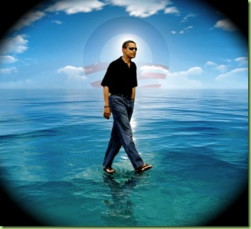 obama-walking-on-water
