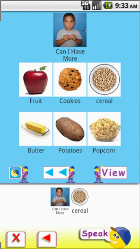AAC Speech Buddy - screenshot