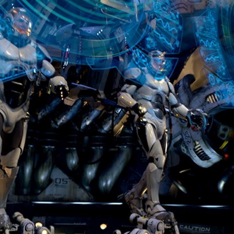 "Del Toro Releases New ""Pacific Rim"" Footage Online"