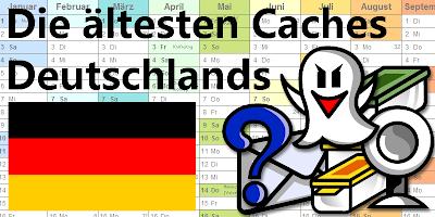 Die ältesten Caches Deutschlands