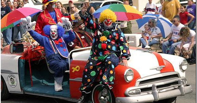 The Flying Pie: Here Comes The Clown Car