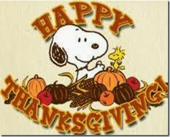 Peanuts Thanksgiving Graphic
