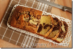 Traditional Marble Cake