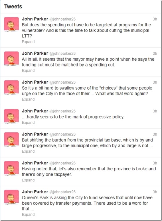 John Parker Tweets QP Funding 28 June 2013