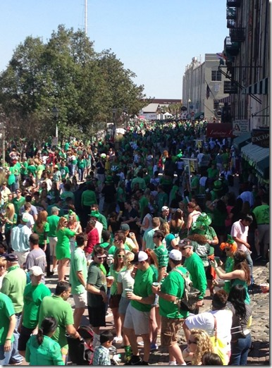 st pats in Savannah