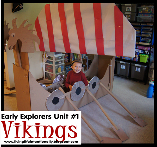 Early Explorers Homeschool History Unit - Vikings