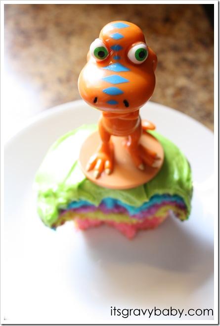 Dinosaur Train Cupcake