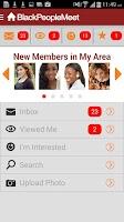 Screenshot of Black People Meet Singles Date
