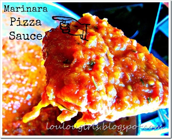marinara pizza sauce