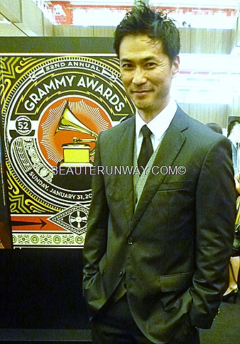 Jimmy T at Gucci Singapore Paragon Watch Launch