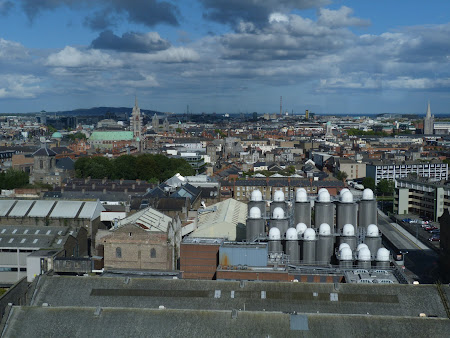 Imagini Irlanda: Guiness bar panorama Dublin