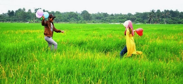 Outdoor Photoshoot di Sawah Bendang