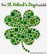 Not Quite Suzie Homemaker - Shamrock Printable