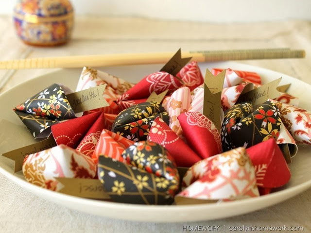 Chinese New Year Paper Fortune Cookies via homework | carolynshomework (1)