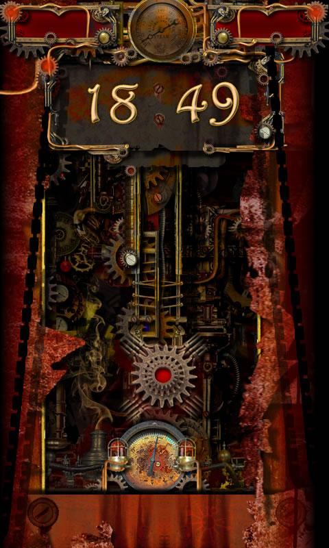 Steampunk Light GOLocker Theme - screenshot