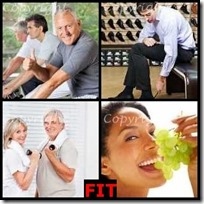 FIT- 4 Pics 1 Word Answers 3 Letters