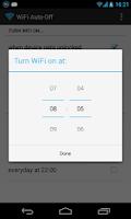 Screenshot of WiFi Automatic