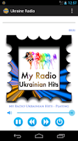 Screenshot of Ukraine Radio