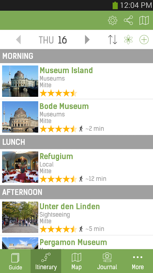 Berlin Travel Guide - mTrip - screenshot