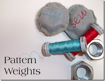 pattern weights 1