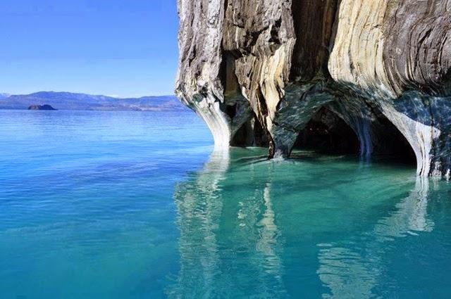 Patagônia – a beleza da caverna de Marmol 1