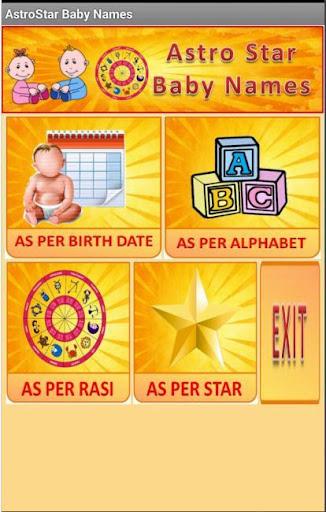 Baby Names Birth Star