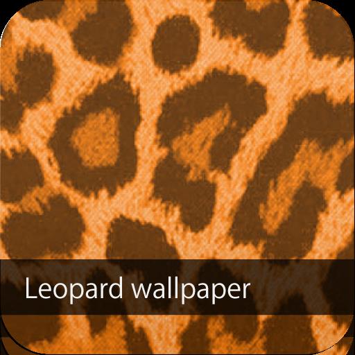 かわいい♪オレンジヒョウ柄壁紙♪【スマホ待ち受け豹柄壁紙】 個人化 App LOGO-APP開箱王