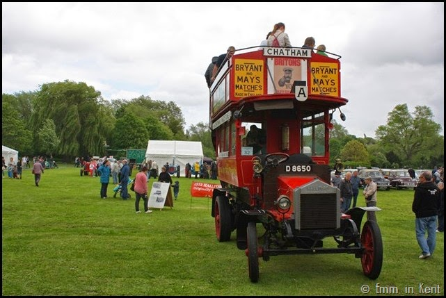 A Vintage Open Top Bus