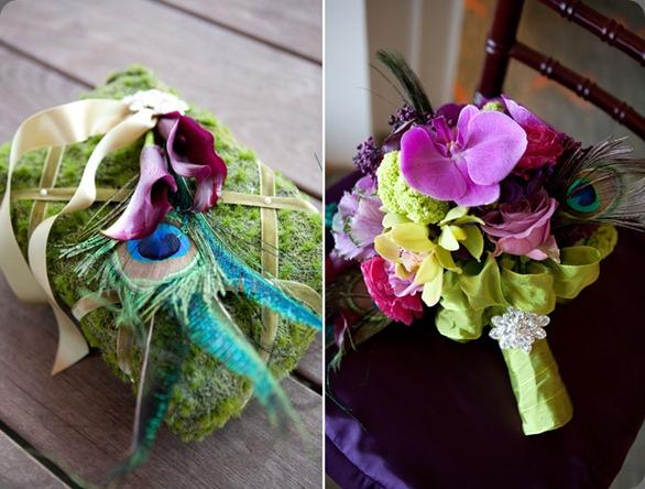 Tough-love-couples-Simone-and-Dennis-wedding-peacock-wedding-bouquet karen tran