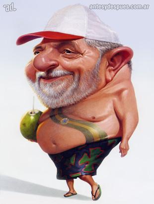 La caricatura de Lula Dasilva
