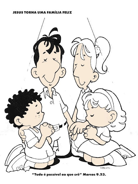 Los Niños Y La Oracion En Laminas Para Pintar